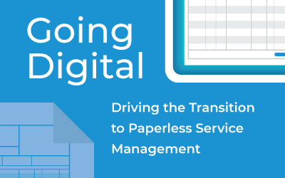 Going Digital: Driving the Transition to Paperless Service Management