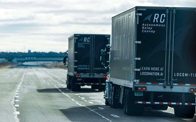Autonomous Convoy Developer Locomation Completes Initial Phase of Fleet Testing