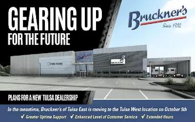 Bruckner's Dealership Moving to Tulsa West Location