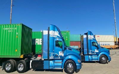 Kenworth Delivers Electric Prototype Trucks